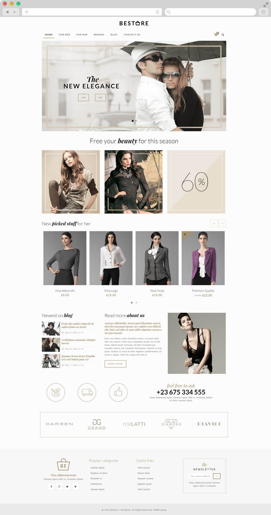 BeTheme - Κατασκευαστής Ιστοσελίδων
