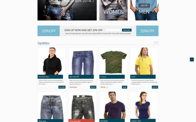 GoodStore Wordpress Template