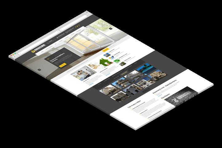 κατασκευή ιστοσελίδας οικόδεσμος