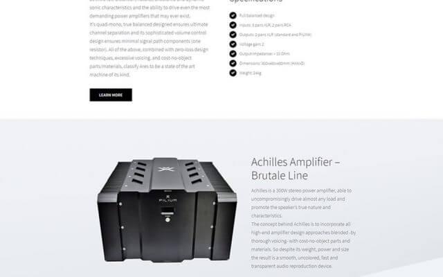 Ηχητικός Εξοπλισμός Pilium Audio