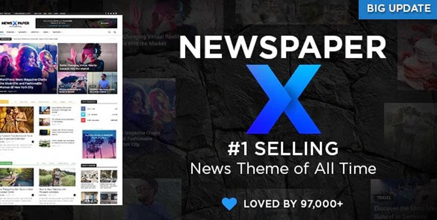 Newspaper - WordPress Τheme
