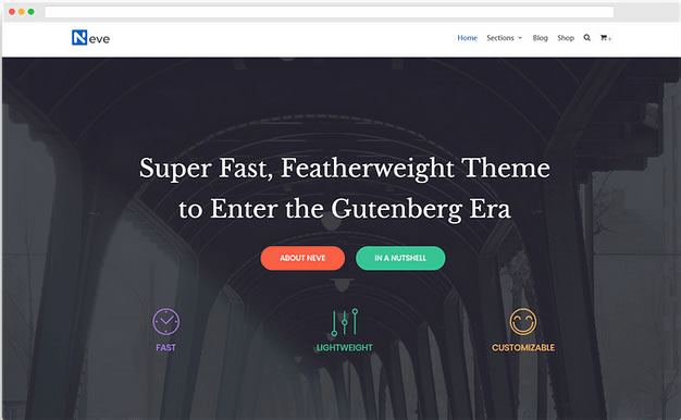 Neve - Free Elementor Wordpress Theme